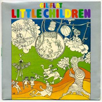 Gil Flat's Little Children LP front cover