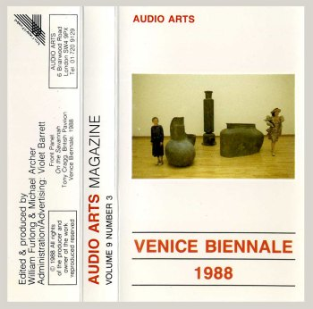 Audio Arts Magazine - Vol 9 Number 3 cassette front cover