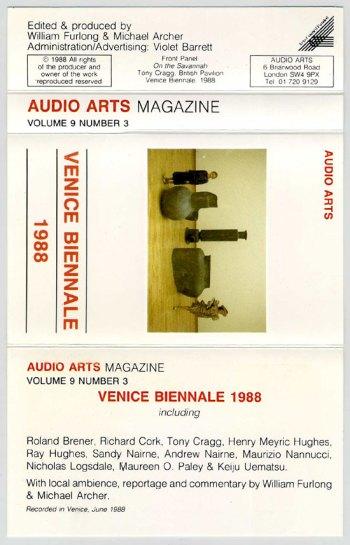 Audio Arts Magazine - Vol 9 Number 3 cassette cover spread