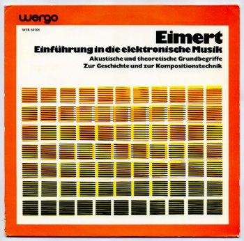 Einführung in die Elektronische Musik LP cover