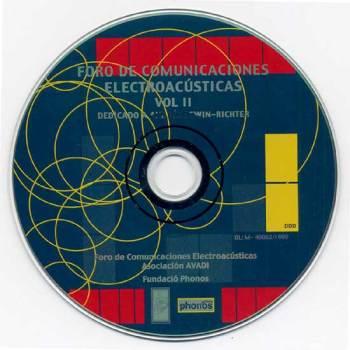Foro de Comunicaciones Electroacústicas vol. II