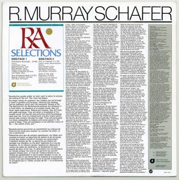 Raymond Murray Schafer 'RA' LP back cover