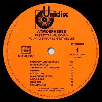 Atmosphères LP side 1