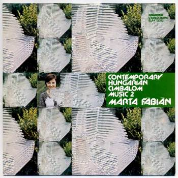 Contemporary Hungarian Cimbalom Music vol. 2 LP front cover