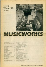 Musicworks issue #6, 1979