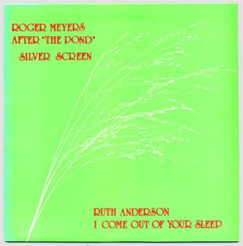 Roger Meyers/Ruth Anderson split LP front cover