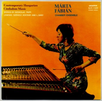 Contemporary Hungarian Cimbalom Music vol. 1 front cover