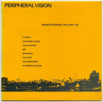 Peripheral Vision LP front cover