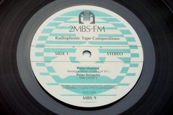 Radiophonic Tape Compositions LP side 1