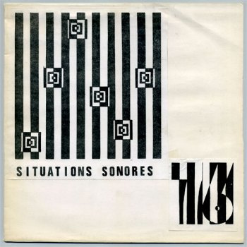 Situations Sonores '76 LP front cover