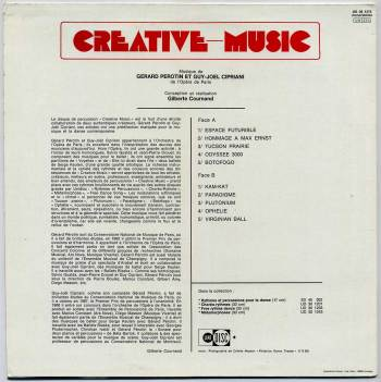Creative Music LP back