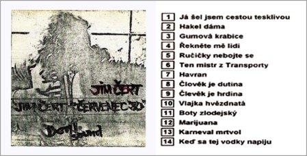Jim Čert's 1st cassette, 1980