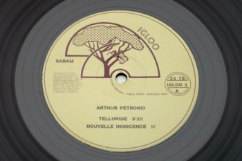 Arthur Pétronio - Verbophonie LP side A