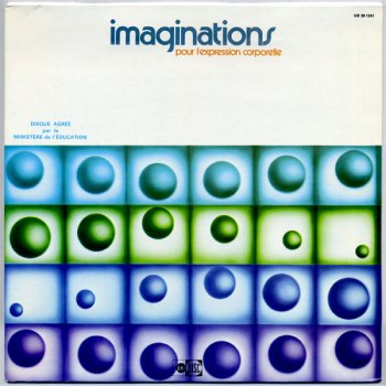 Imaginations pour l'Expression Corporelle LP front