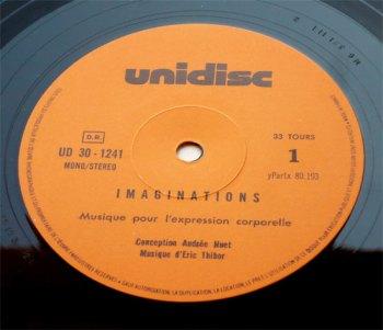 Imaginations pour l'Expression Corporelle LP side A