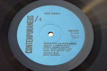 Juan Blanco s/t debut LP cara A