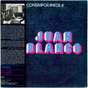 Juan Blanco s/t debut LP front cover