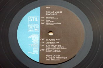 Pierre Charial - Swing Valse Machine LP side 1