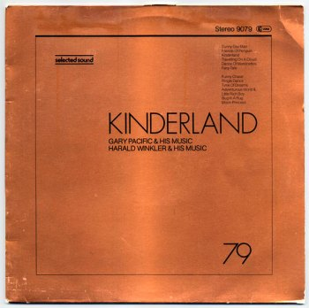 Harald Winkler & Gary Pacific - Kinderland LP front cover