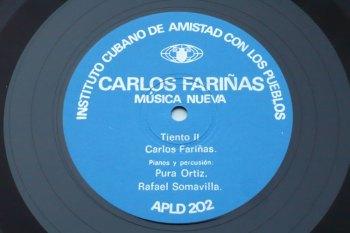 Leo Brouwer/Carlos Fariñas - Música Nueva LP side 2