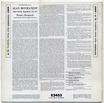 Saint Vartan Symphony LP back cover