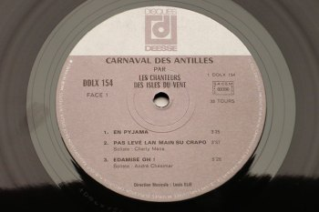 Carnaval des Antilles LP side 1