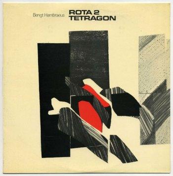 Bengt Hambreus - Rota II/Tetragon LP front cover