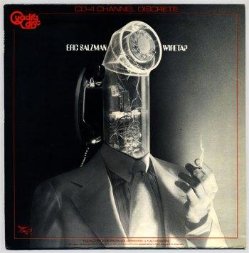 Eric Salzman - Wiretap LP front cover