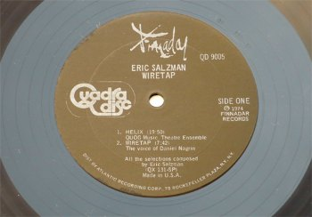 Eric Salzman - Wiretap LP side 1