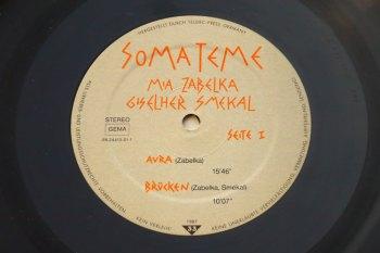 Mia Zabelka & Giselher Smekal - Somateme LP side 1