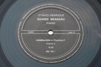 Soares Brandão - Homenagem a Foucault LP lado B
