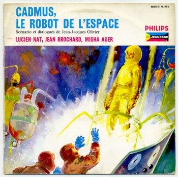 Cadmus, Le Robot de l'Espace LP front cover