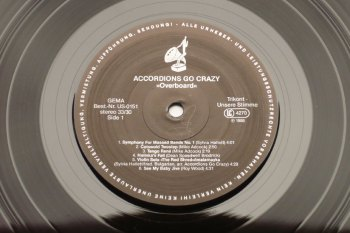 Accordions Go Crazy - Overboard LP side 1