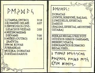Wejdas - I Tamsa k7 info