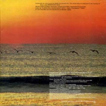 Hubert Vrayance - Landscape 80 LP spread