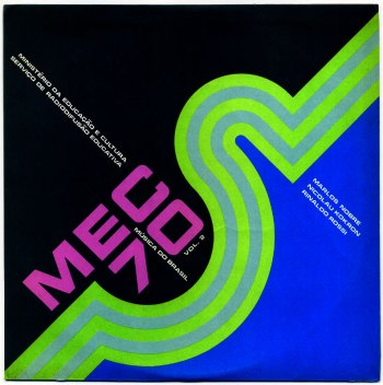 Various - Mec '70 - Musica do Brasil LP front cover