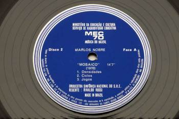 Various - Mec '70 - Musica do Brasil LP side A
