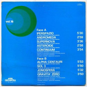 Guglielmo Papararo & Vittorio Montis LP back cover