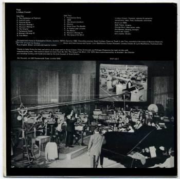 Lindsay Cooper - Rags LP back cover