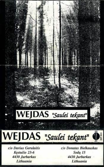 Wejdas - Saulei tekant k7 cover art