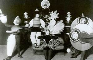 Oskar Shlemmer's Triadic Ballet, Berlin, 1926