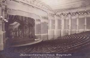 Bayreuth auditorium