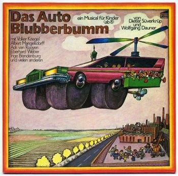 Das Auto Blubberbum LP front cover