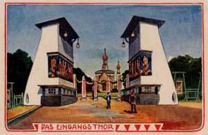 Das Eingangsthor, Darmstadt