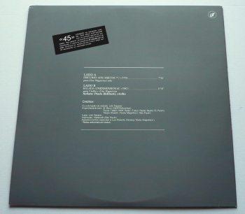 Lelo Nazario - Discurso aos objetos LP back cover