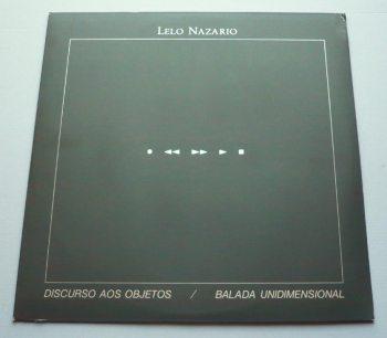 Lelo Nazario - Discurso aos objetos LP front cover