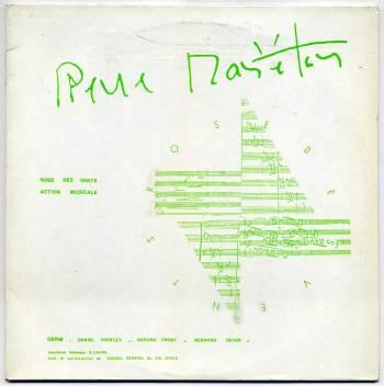 Pierre Mariétan - Rose des Vents 2xLP front cover