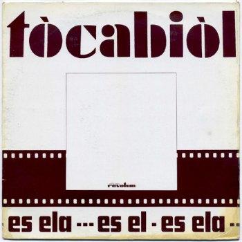 Tòcabiòl - Es el, es ela... LP front cover