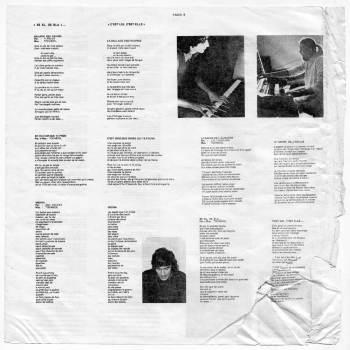 Tòcabiòl - Es el, es ela... LP lyrics