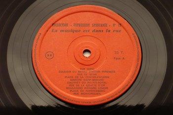 La musique est dans la rue LP side A